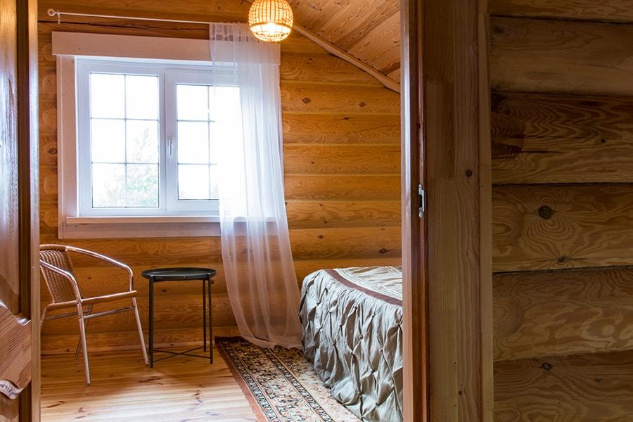 Эко-дом с двумя спальнями